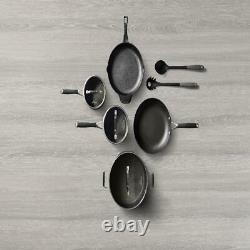 10-Piece Cookware Set Select by Calphalon Hard-Anodized Nonstick Pots and Pans