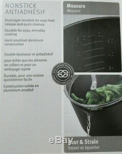 14 Pc Set Calphalon Classic Nonstick Cookware Pot Pan Skillet Strain Lid 1943336
