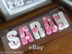 26pc ALPHABET SET Letters Words Names Silicone Bakeware Cake Mould Mold Pans Tin