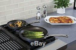 2 Pc Nonstick Skillet Frying Pan Set Omelette Aluminum Oven Safe 8 10 Cookware