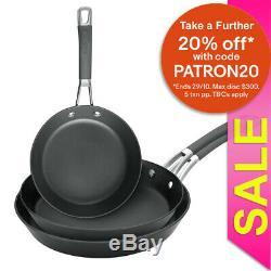 3pc Anolon Endurance+ Skillet/Frying Pan Induction Frypan Cookware Kitchen Set
