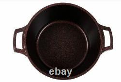 5 PCS Non-Stick Casserole Set, Granite Stone Coating Cookware Set, Non Stick Pan