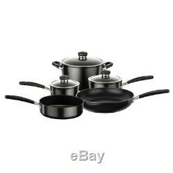 5pc Circulon Ultimum Non Stick Induction Cookware Set Frying/Sauce Pan Stockpot