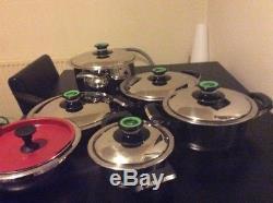 AMC Pots Cookware Set 4 Pots 1 Pan Authentic AMC