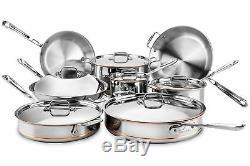 All-Clad Copper Core 14pc Cookware Set