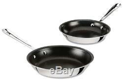 All-Clad D5 Non-Stick NSR2 PFOA-free 8 &10 Inch Fry Pan Set