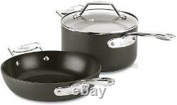 All-Clad Essentials Nonstick 2.5 sauce Pan and 8.5 Inch Fry set