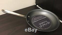 All-Clad d5 Brushed Stainless-Steel Nonstick Fry Pans (3pc set) 8 10 12