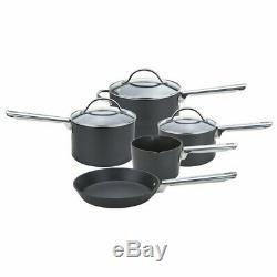 Anolon Professional 5 Piece Non-Stick Cookware Set, Black