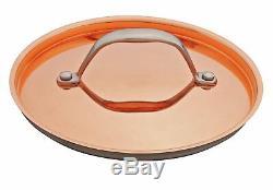 Argos Home 5 Piece Stainless Steel Non-Stick Pan Set Copper