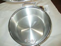 BNWT Silga Teknika 3L (3.15 Qt) Stainless Steel Low Casserole 20cm (7.9), 13020