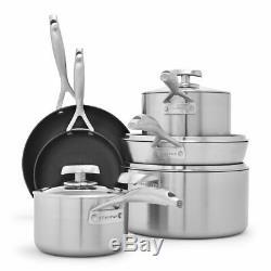 BRAND NEW Scanpan CS+ 10-Piece Nonstick Collection Cookware Set Pot & Pan
