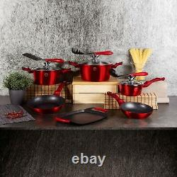Berlinger Haus 12 Pc Cookware Set With Grill No Stick Pots Pans Induction Tools