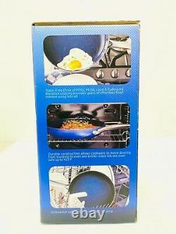 Blue Diamond, Blue Limited Edition Nonstick Ceramic 11-Piece Cookware Set