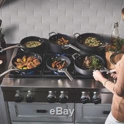 Calphalon 10-Piece Premier Hard Anodized Nonstick Space Saving cookware set