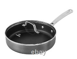 Calphalon Classic 10-Piece Cookware Set Hard-Anodized Nonstick Black