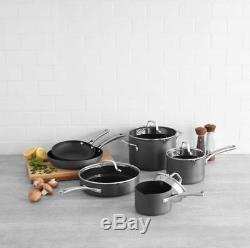 Calphalon Classic Kitchen Nonstick Cookware Pot and Pan Cooking and Frying Set