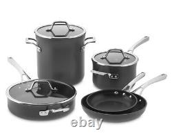 Calphalon Williams-Sonoma Elite 8 Piece Nonstick Cookware Set 500°F Oven Safe