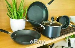 Circulon 83801 Momentum 5 Piece Hard Anodised Pan Set with Lids (Non-stick)