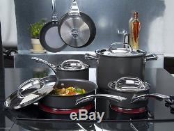 Circulon Infinite 5 Piece Hard Anodised Induction Cookware Set Lifetime Warranty
