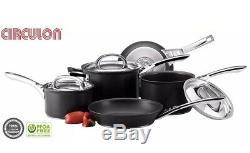 Circulon Infinite Hard Anodised INDUCTION Non Stick 5 Piece Saucepan Fry Pan Set