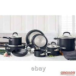 Circulon Premier Professional Hard Anodized 13 Piece Non Stick Pan Set BRAND NEW