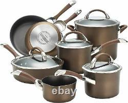 Circulon Symmetry 11 Piece Saucepan/Frying Pan Set Hard Anodised