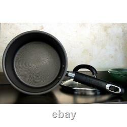 Circulon Total Stainless Steel 3 Piece Saucepan Set NonStick Induction Pots&Pans