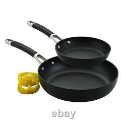 Circulon Twin Pack Set Frying Pan 20 28cm Non Stick Induction Black New