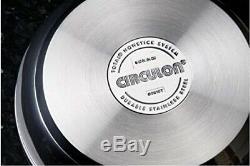 Circulon Ultimum Stainless Steel 4 Piece Set