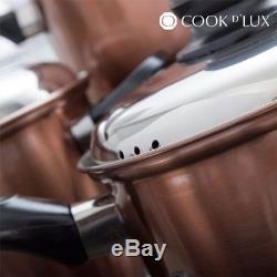 Cook DLux Pots and Pans Set (12 pieces)