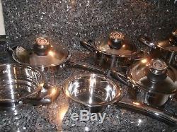 Cooking Set Swissamc Pots Waterless Cerole Sim Saladmaster Master Chef