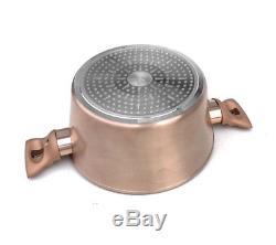 Cookware Set 12-pcs Pot Pan Saucepan Induction Hob GB Berlinger Haus Bh-1696