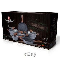 Cookware Set 15-pcs Pot Pan Saucepan Induction Hob GB Berlinger Haus Bh-1213
