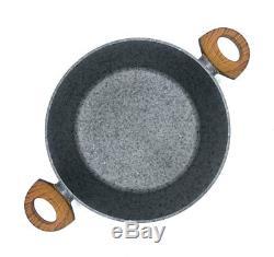 Cookware Set 7-pcs Pot Pan LID Frying Pan Induction Gas Hob GB Klausberg Kb-7240