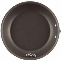 Cookware Set Nonstick Bronze Aluminum Pan Glass Lids Dishwasher Safe 11-Piece