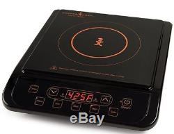 Copper Chef Induction Cooktop 6 Piece Non Stick Cookware 9.5 Deep Square Pan