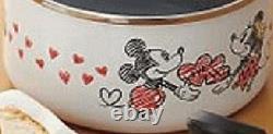 Disney Mickey Minnie Mouse kitchen Cooking Wear pot pan frying pan 3 set IH gas