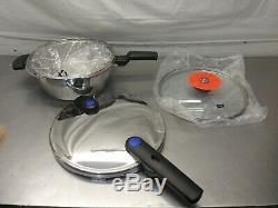 Fissler Vitaquick FIS5850 Pressure Pan Set # FSSFIS5850