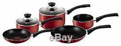 Frying Pan Set Tefal Non Stick Aluminium Cookware Saucepans Pots and Pans, 5 Pcs