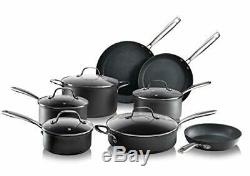Granitestone Cookware Set Pots Pans Nonstick Coating Oven Dishwasher Safe 3 Pc