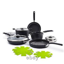 GreenPan Levels Stackable Hard Anodized 11 Piece Cookware Set