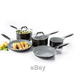 GreenPan York Ceramic Non-Stick 5 Piece Cookware Set