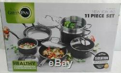 Green Pan New York Pro 11 Piece Pot/Pan Cooking SetPlease Read Description