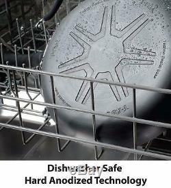 Hard Anodized Cookware Set 14 Piece Thermo-Spot Heat Indicator Nonstick Pot Pan