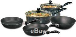 Hawkins Futura Cookware Non Stick Set Deep FryPan Curry Pan Sauce Pan Glass Lid
