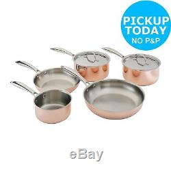 Heart of House Copper 5 Piece Pan Set. From the Official Argos Shop on ebay