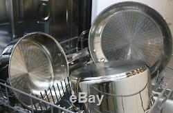 Induction Cookware Set Stainless Steel Kitchen Pots And Pans Oven Safe T-fal
