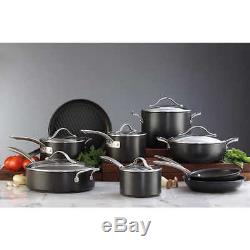 Kirkland Signature Hard Anodized 15-piece Cookware Set