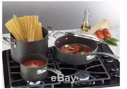 Kirkland Signature Hard Anodized 15-piece Cookware Set Pots and Pans